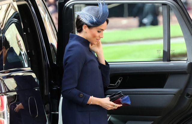 Meghan Duchess of SussexThe wedding of Princess Eugenie and Jack Brooksbank, Pre-Ceremony, Windsor, Berkshire, UK - 12 Oct 2018