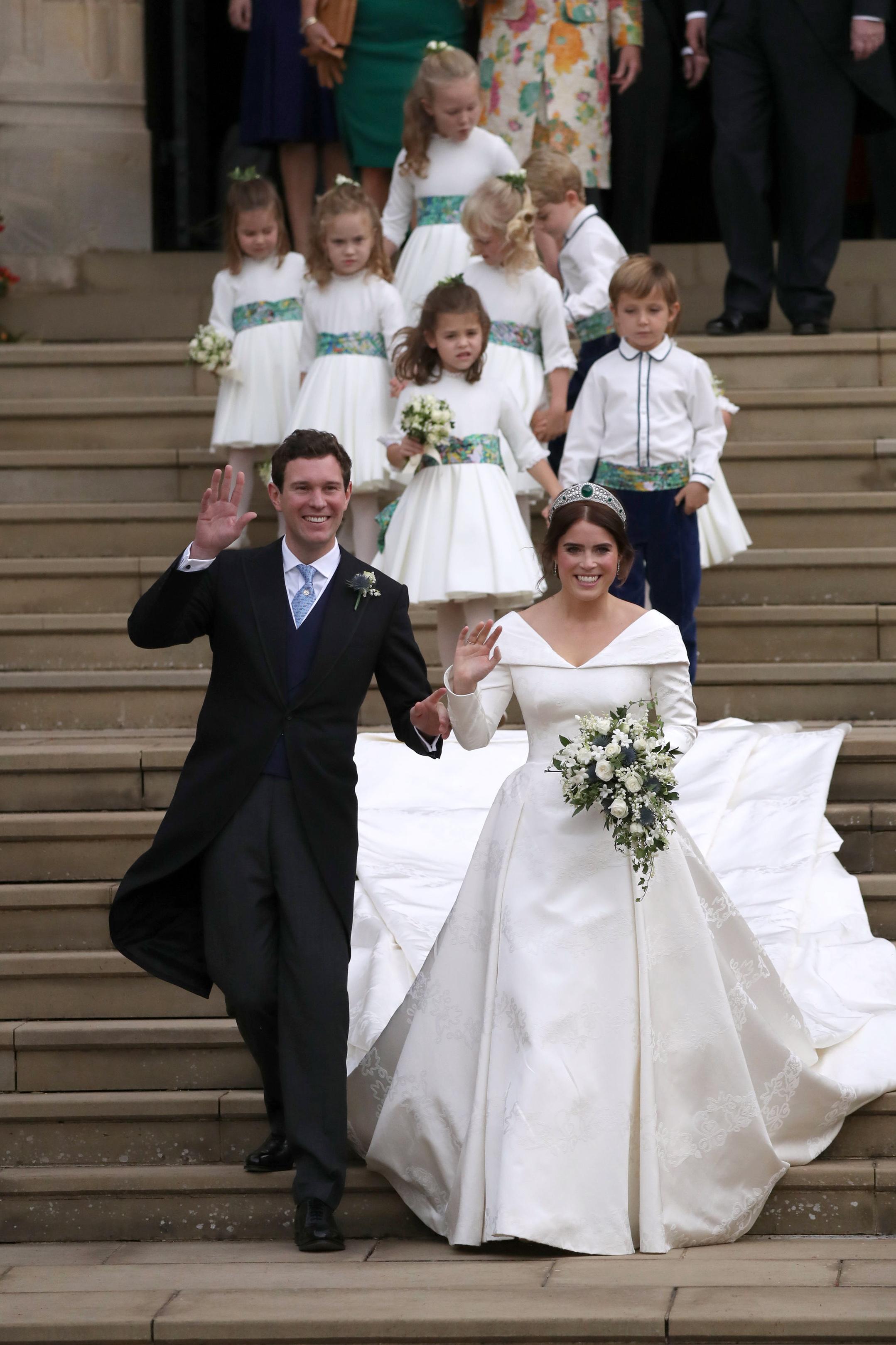 he wedding of Princess Eugenie and Jack Brooksbank