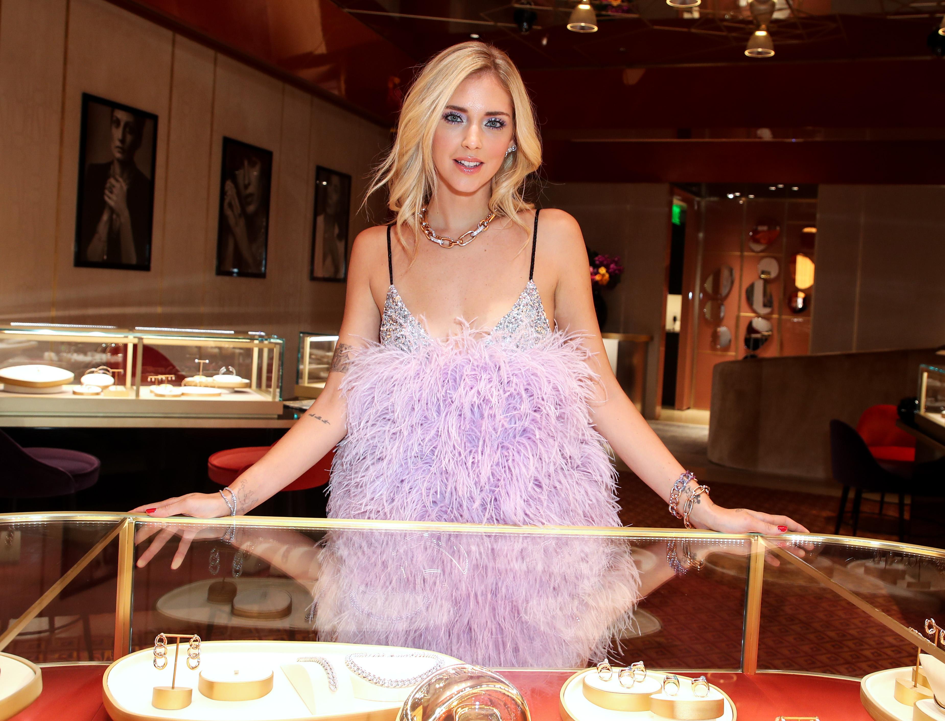 Chiara FerragniPomellato Beverly Hills Boutique party, Los Angeles, USA - 16 Oct 2018