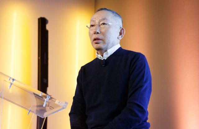 Tadashi YanaiUniqlo & Alexander Wang Heattech collaboration launch, New York, USA - 23 Oct 2018
