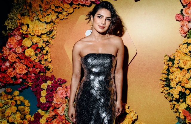 Priyanka ChopraBumble India Dinner, Gramercy Park Hotel Rooftop, New York, USA - 29 Oct 2018