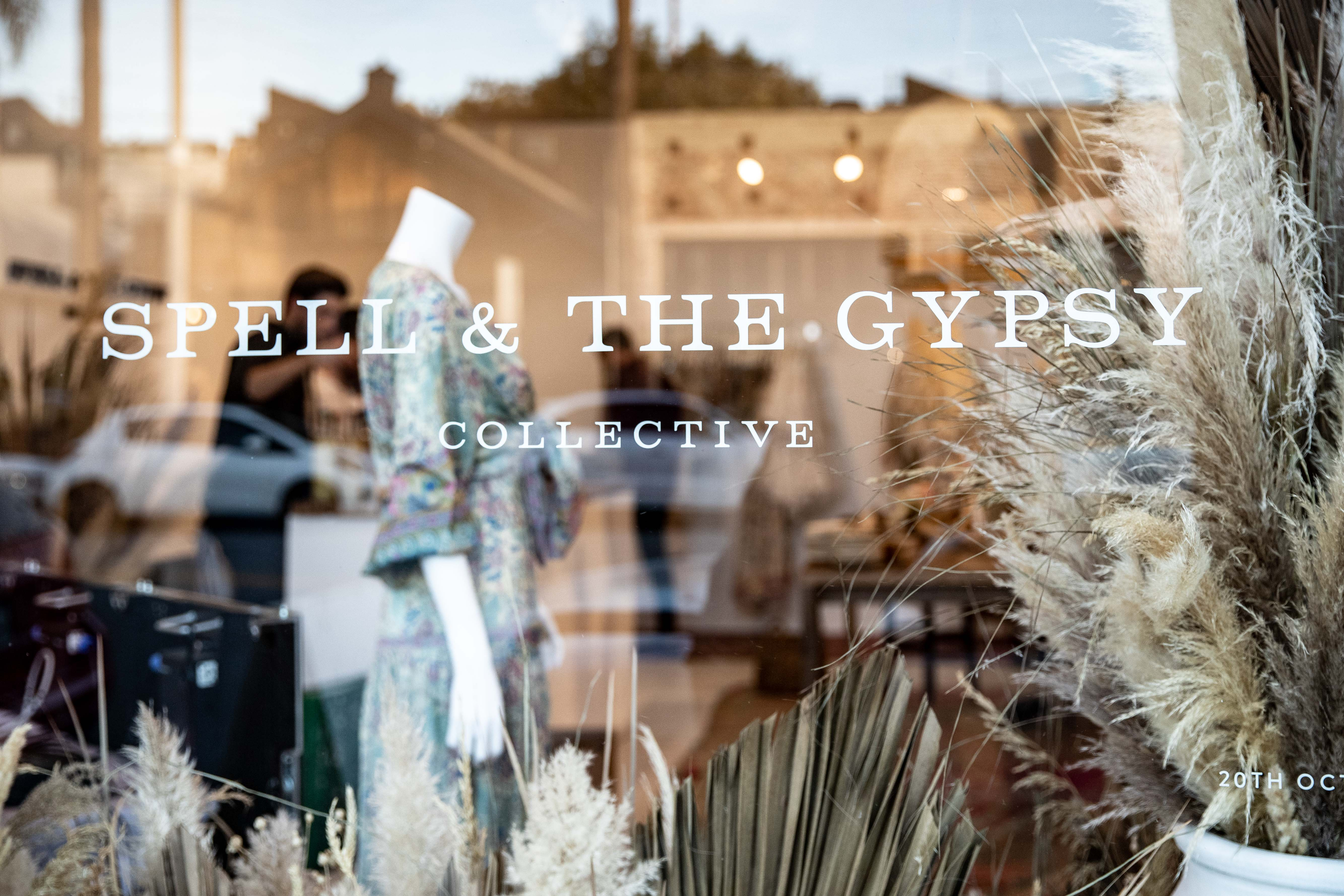 Spell & The Gypsy Collective pop-up shop on Abbot Kinney Boulevard in Venice, Calif.