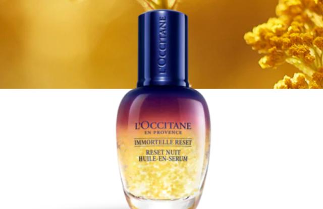 L'Occitane en Provence's new bestseller serum Immortelle Reset.