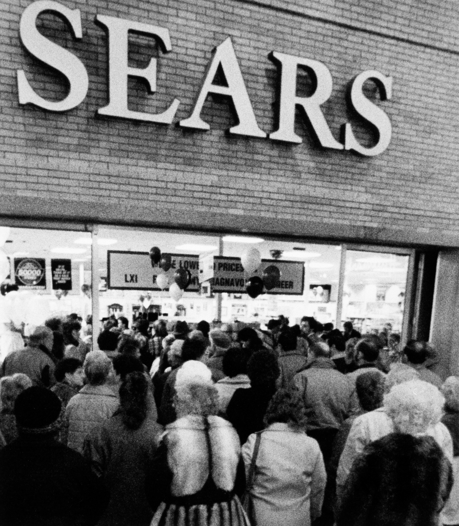 Sears in the Wyoming Valley Mall in Wilkes-Barre Twp., Penn.,March 1, 1989.