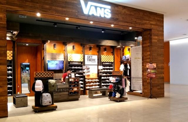 A Vans storefront