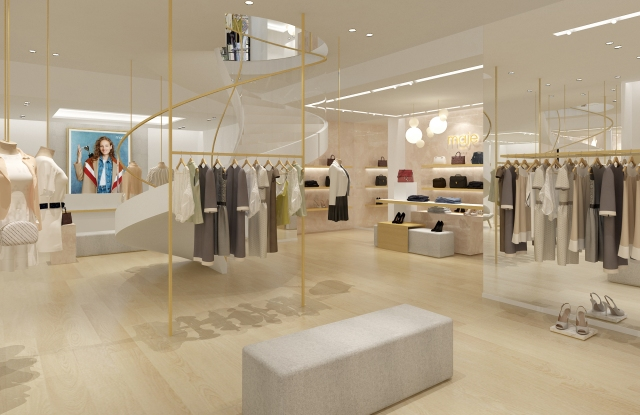 A rendering of the Maje flagship on Regent Street.