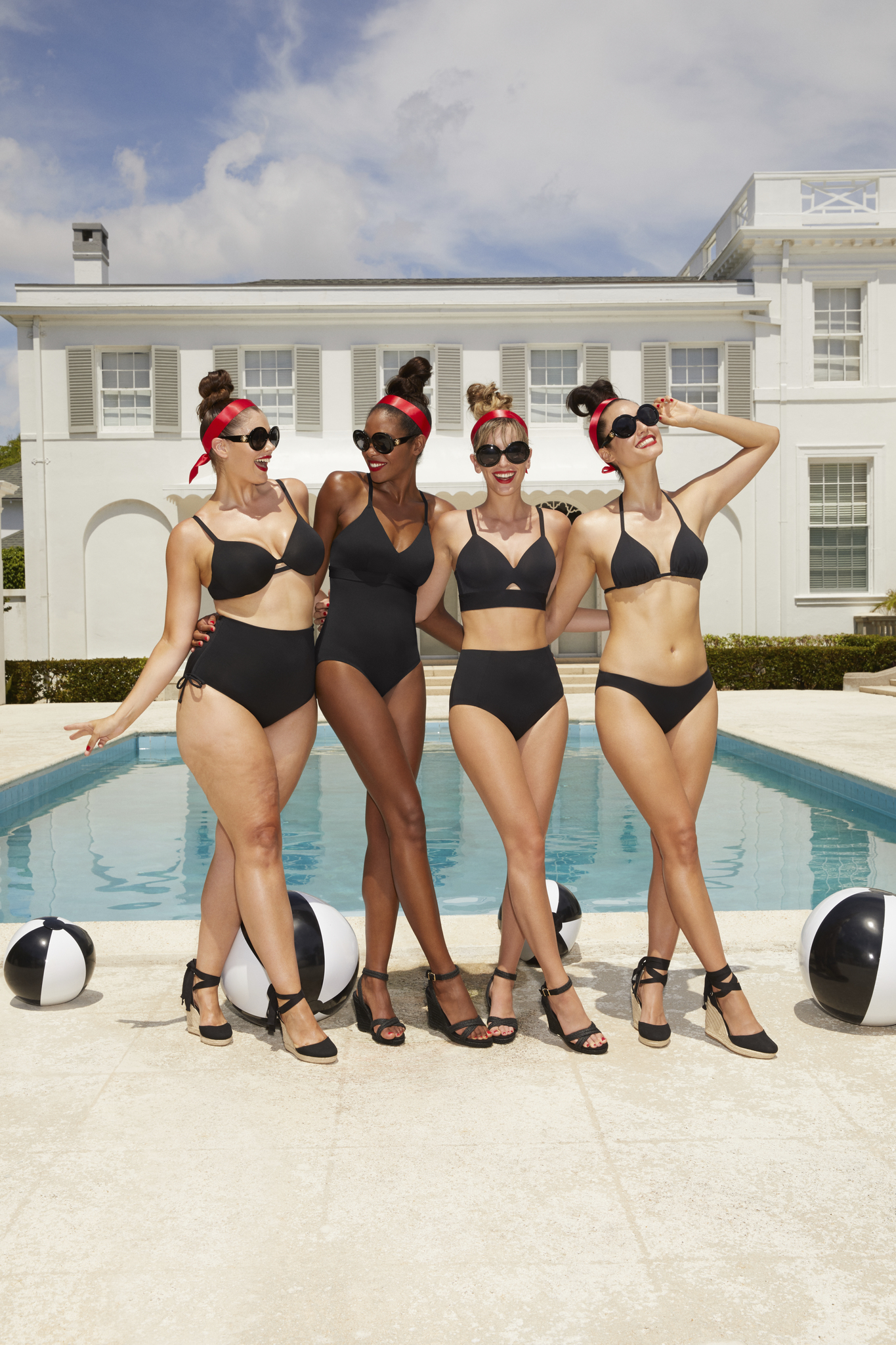 Spanx has expanded into swimwear.
