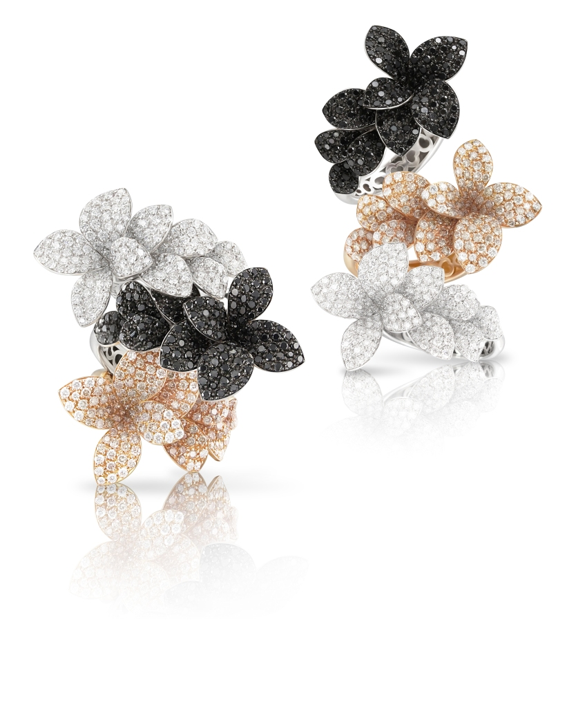 Rings from Pasquale Bruni's Stelle in Fiore collection
