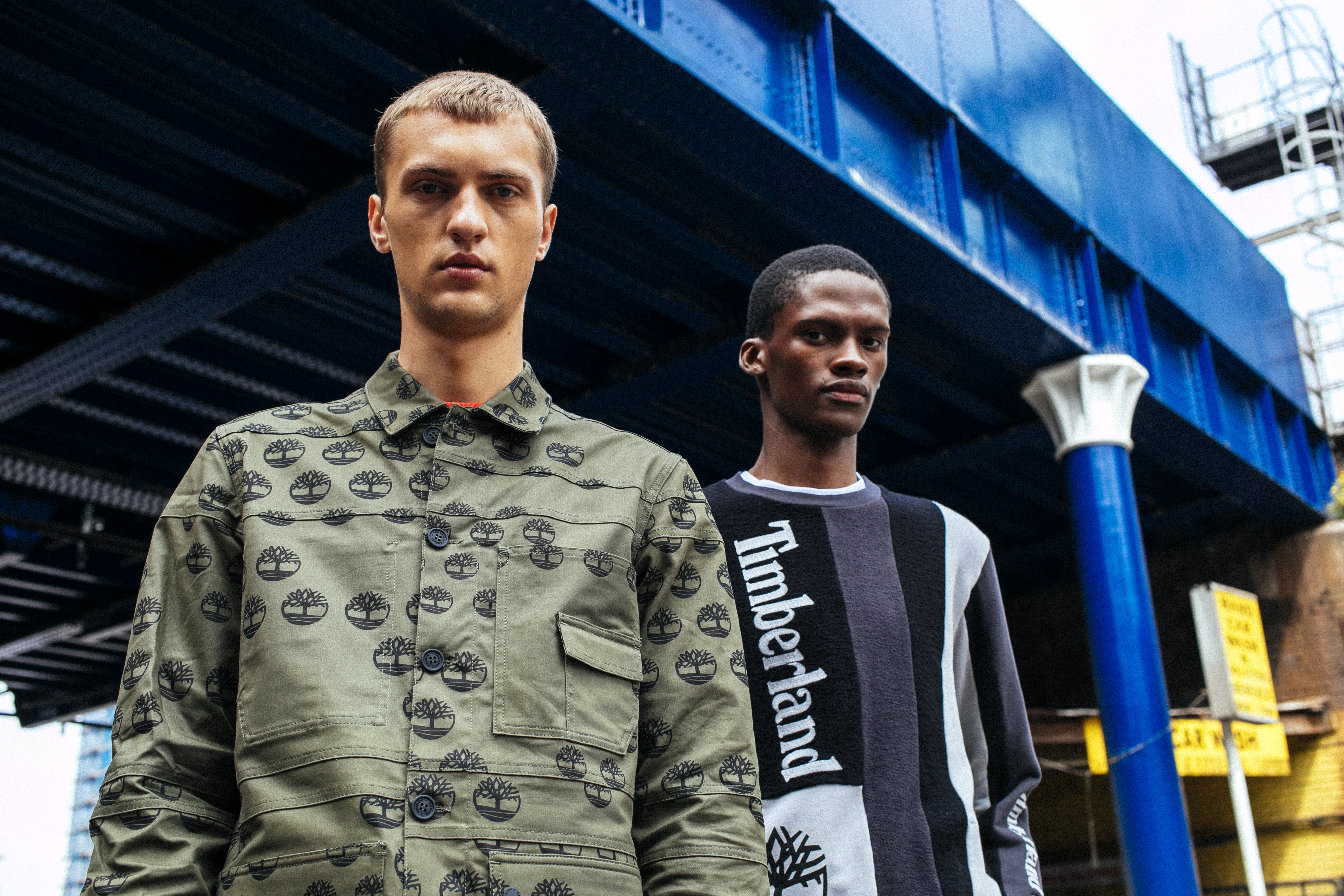 Looks from Christopher Raeburn's first capsule collection with Timberland.