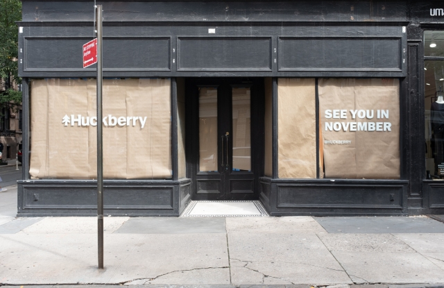 The Huckberry pop-up will be located on Bleecker Street.