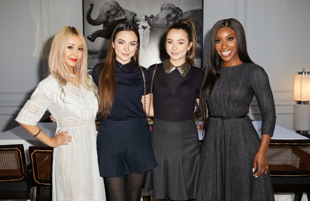 From left: Wengie, the Merrell twins and Jackie Aina at a September 2018 Dior brunch.