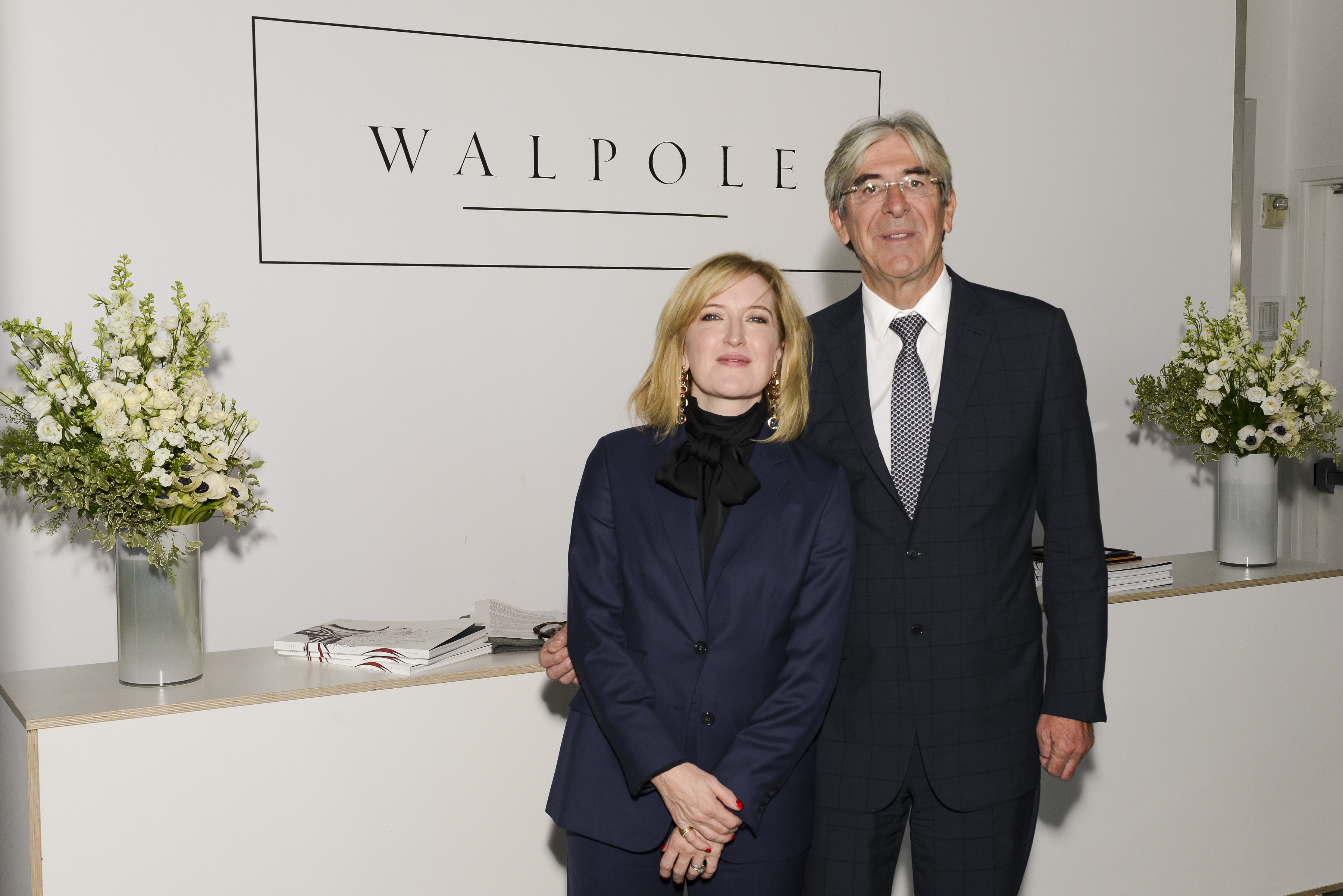 Helen Brocklebank, ceo of Walpole, and Michael Ward, managing director at Harrods.