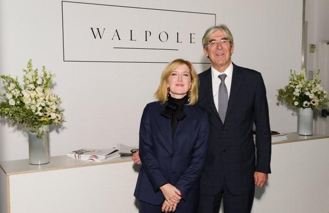 Helen Brocklebank, ceo of Walpole, and Michael Ward, managing director at Harrods.