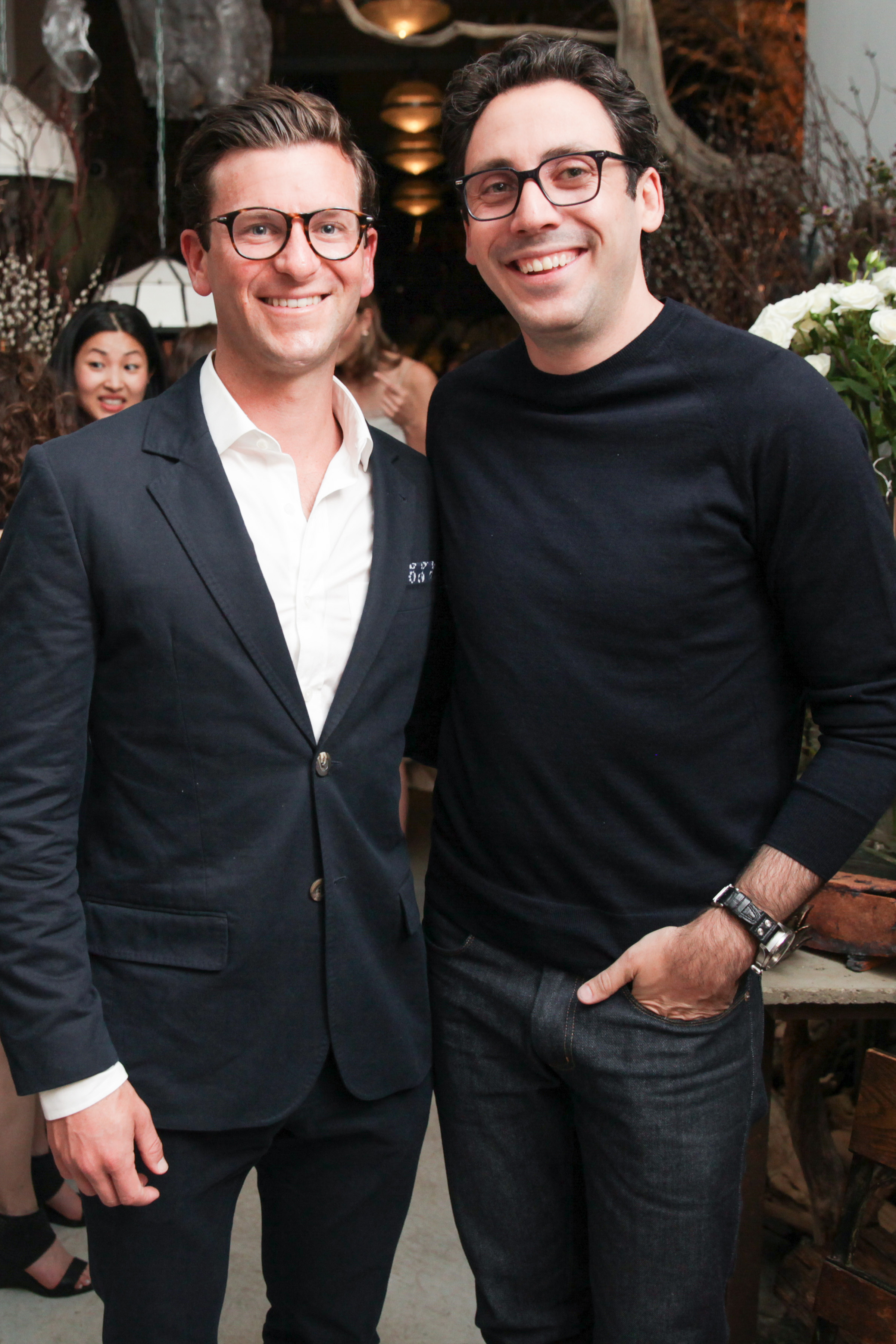 Dave Gilboa and Neil Blumenthal of Warby Parker.