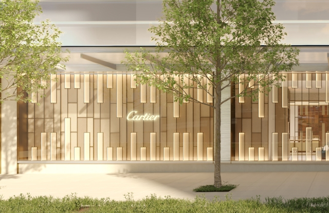 Cartier Shifts Gaze West to Hudson Yards