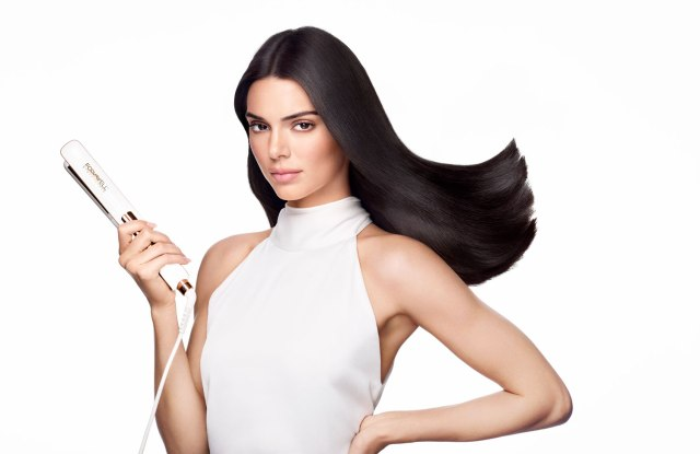 Kendall Jenner appears in the campaign for a new hair-care tool line called Runway Series.