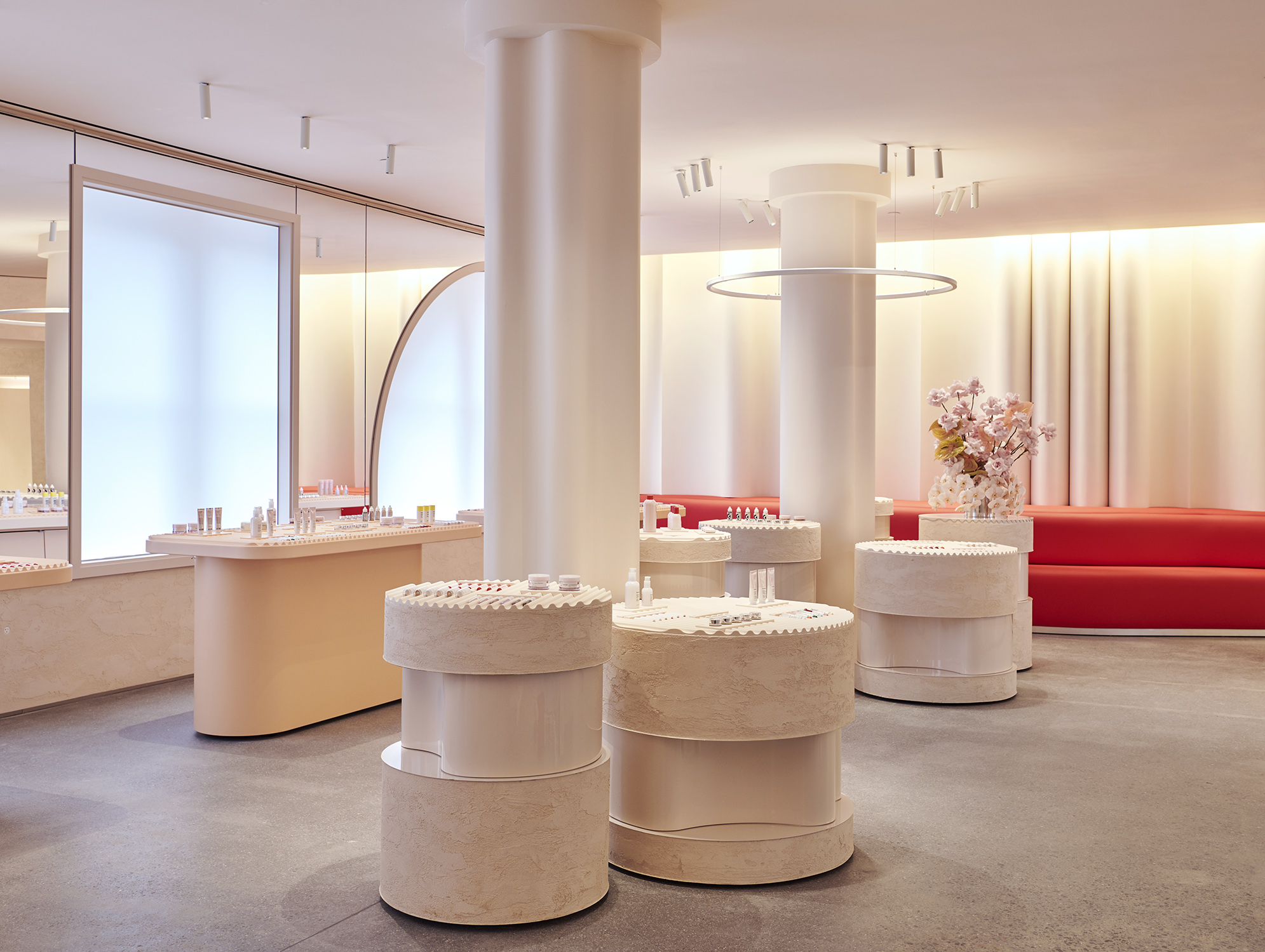 Glossier opens its first NYC flagship on Lafayette Street.