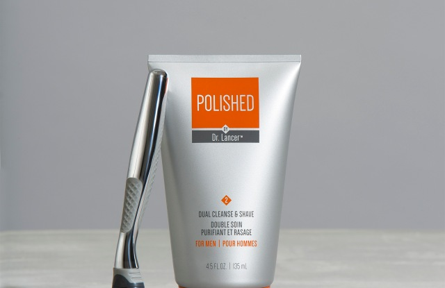 The Polished by Dr. Lancer line is a partnership with Ryan Seacrest.