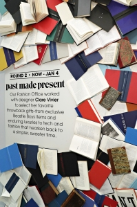 Past Made Present will remain at Bloomingdale's through the holidays.