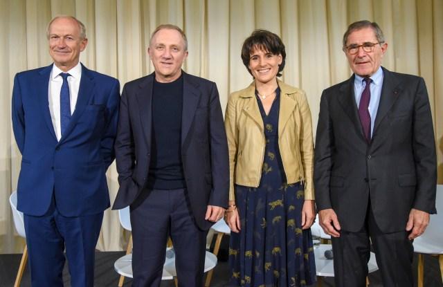 Jean-Paul Agon, François-Henri Pinault, Sophie Boissard and Gérard Mestrallet