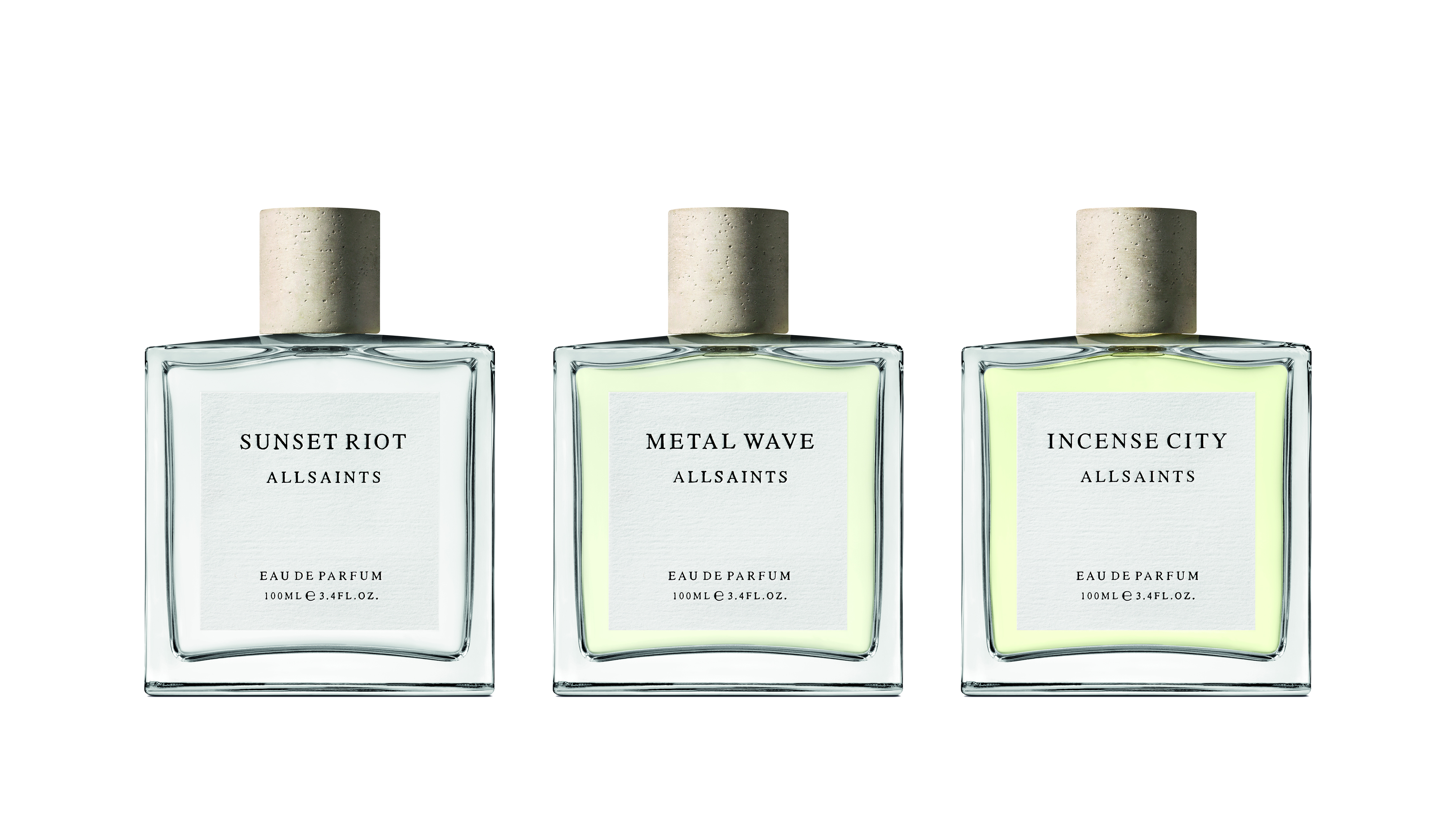 AllSaints fragrance collection