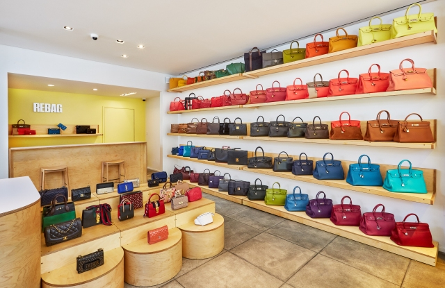 Inside the Beverly Hills store.