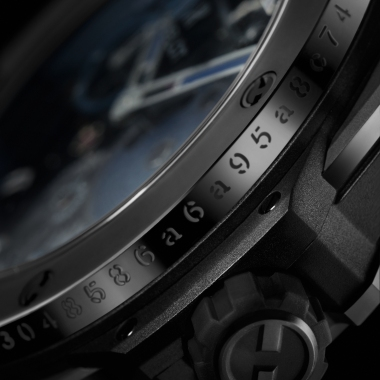 Each watch is engraved with the identification number of the transaction made via Bitcoin.