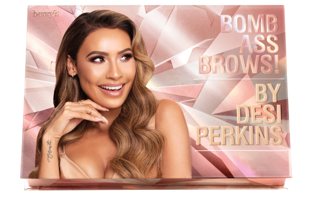 Infuencer Desi Perkins curates a brow kit for Benefit.