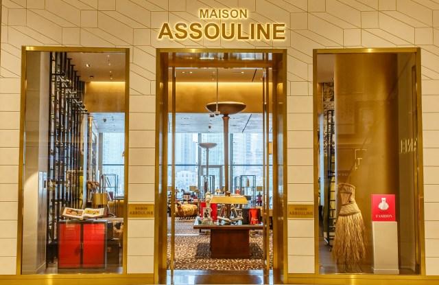 Maison Assouline in the Dubai Mall