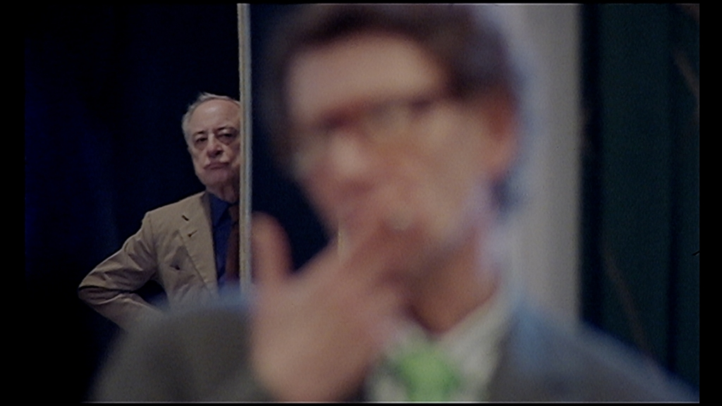"Pierre Bergé and Yves Saint Laurent in a still from ""Celebration"" by Olivier Meyrou"
