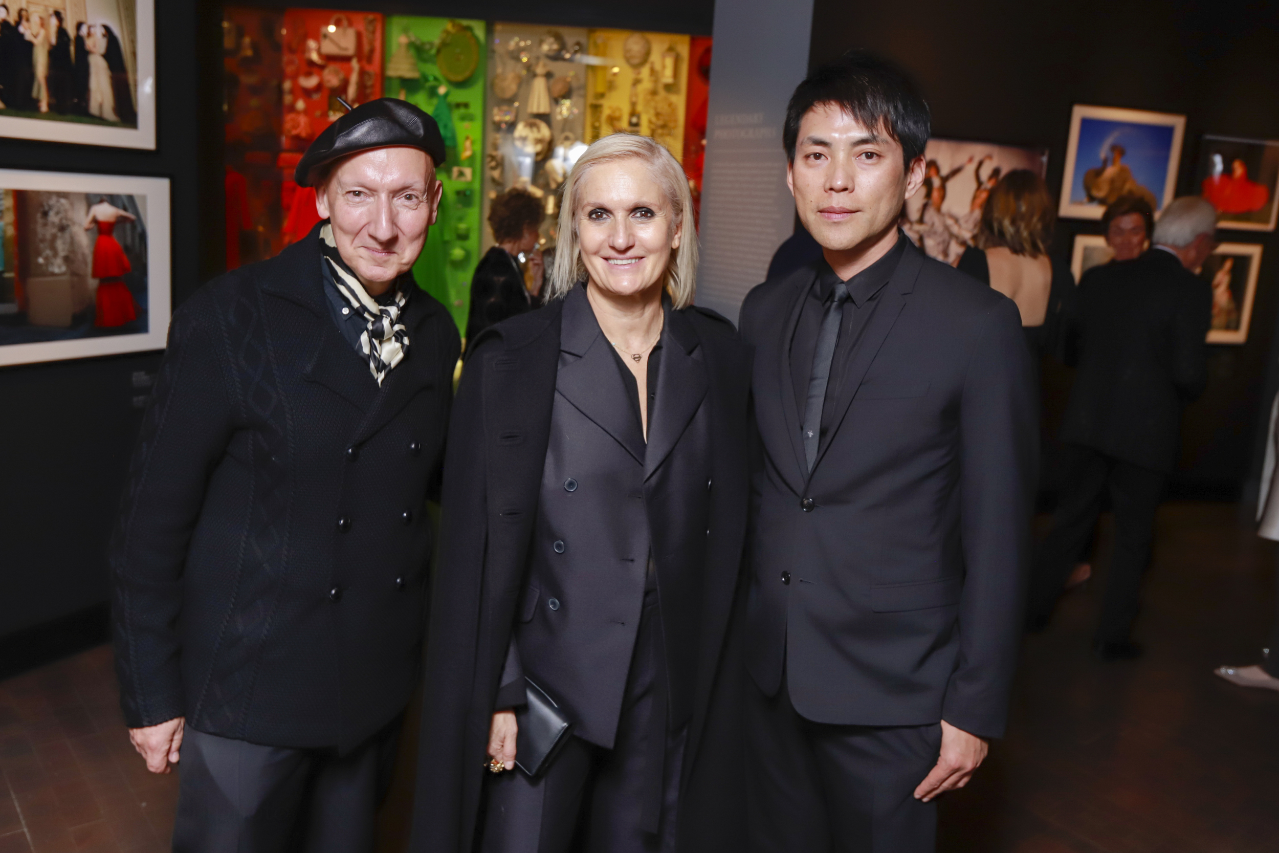 """The Denver Art Museum Chairman's Dinner, featuring the opening of the """"Dior: From Paris to the World"""" exhibition, at the Denver Art Museum, Hamilton Building, in Denver, Colorado, on Friday, Nov. 16, 2018.Photo StevePeterson.photo"""