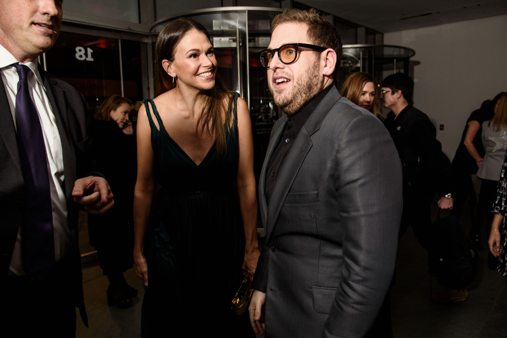 Sutton Foster and Jonah Hill