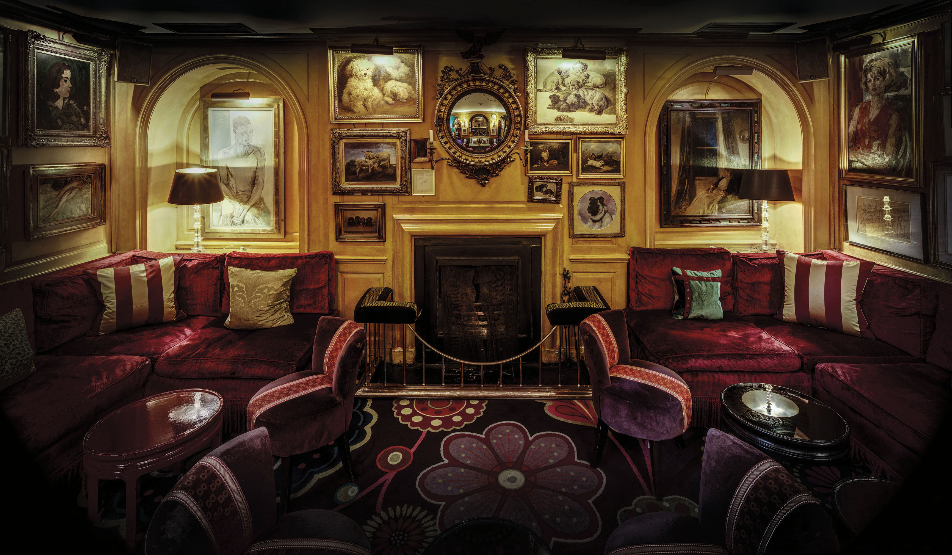 Interior of the Old Annabel's