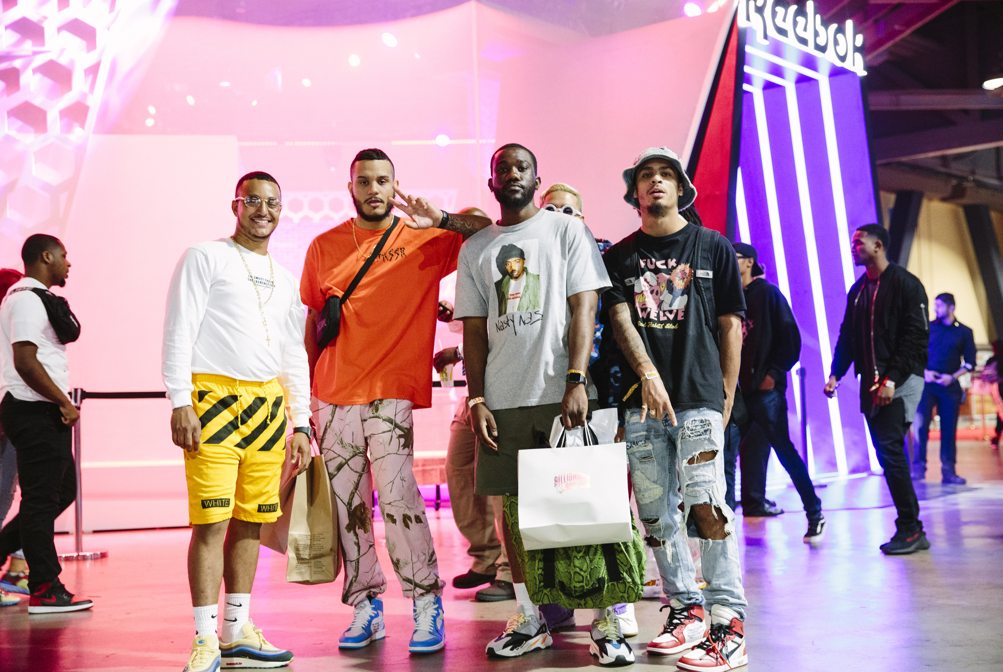 Street Style at ComplexCon 2018