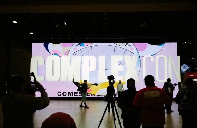 The scene at ComplexCon 2018.