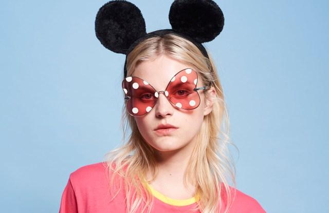 Looks from the Disney x Karen Walker collection.