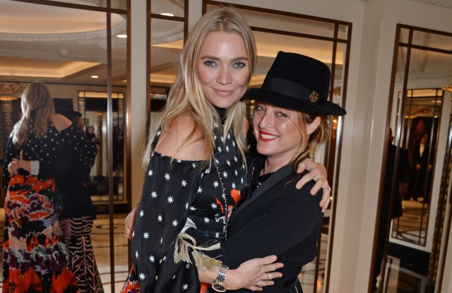 Jodie Kidd and Alice Temperley  attend the Walpole British Luxury Awards 2018 at The Dorchester in London.