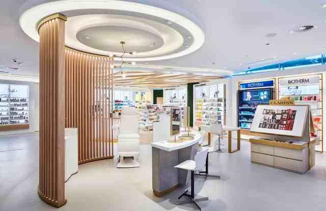 Inside Douglas' flagship store in Frankfurt