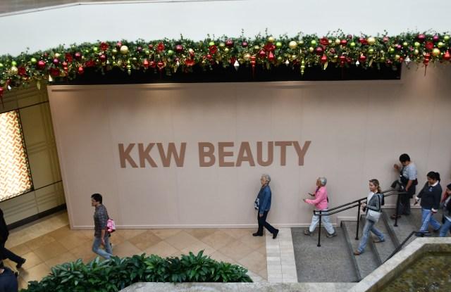 KKW Beauty pop-up