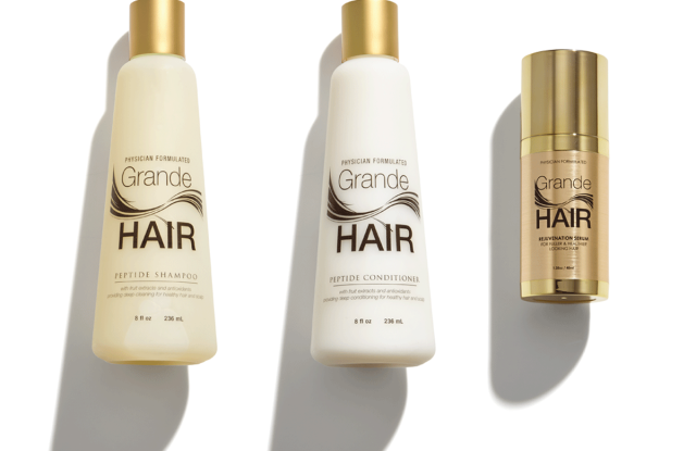 Grande's hair collection has undergone a reboot.