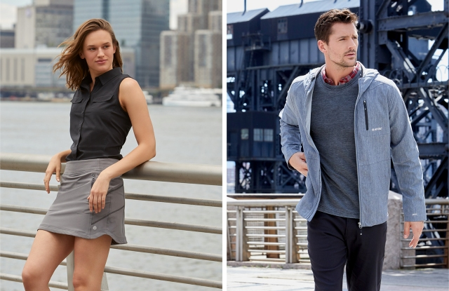 Looks from the men's and women's lines from Hi-Tec.