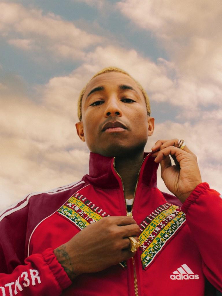 Pharrell Adidas EFI track jacket