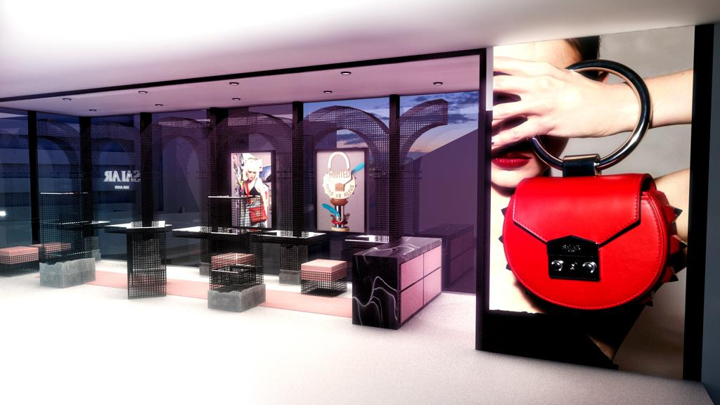 Salar Milano first flagship store at Shanghai's Xin Tian Di shopping mall.