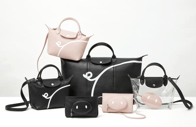 Longchamp x Mr. Bags Year of the Pig capsule.