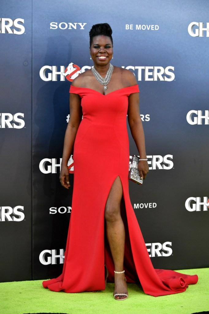 Leslie Jones'Ghostbusters' film premiere, Arrivals, Los Angeles, USA - 09 Jul 2016