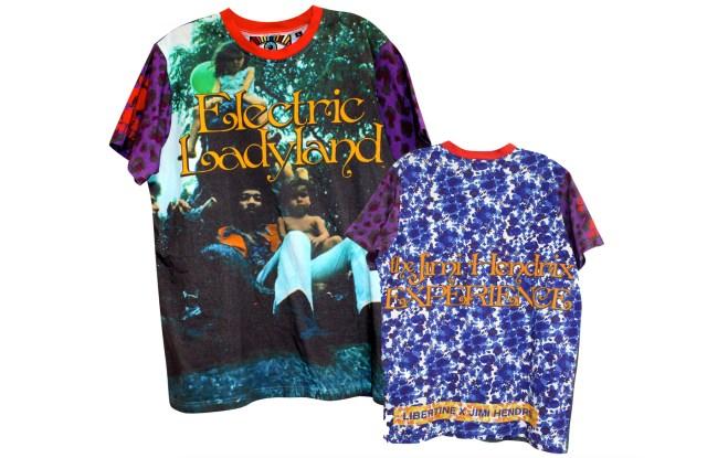 Jimi Hendrix shirts by Libertine