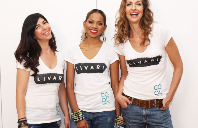 Livari's Claudine DeSola, Tabitha Stt.Bernard-Jacobs and Alysia Reiner.