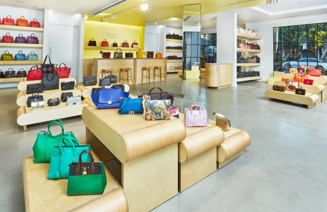 A look inside the store on Melrose Place.