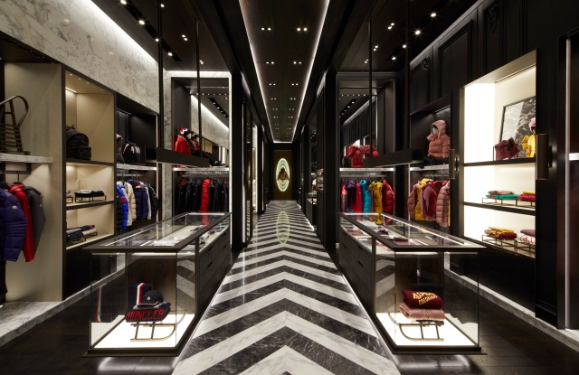 Moncler's store in Mexico City.