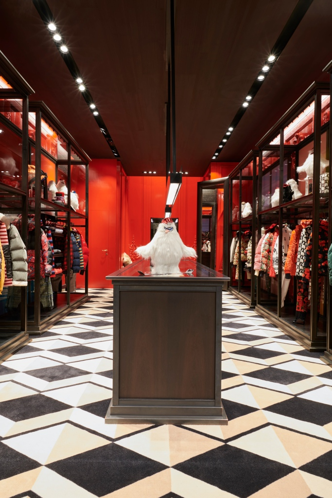 Moncler's Temporary Store in London.
